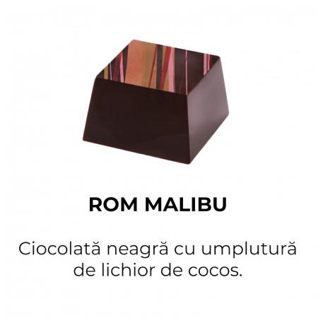 Malibu Rum - Bomboane de ciocolată1