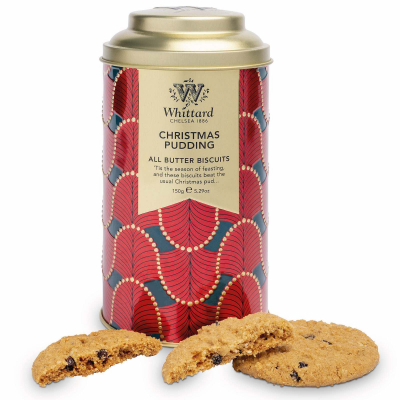 Biscuiți cu unt Christmas Pudding1