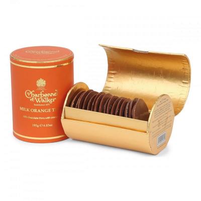 Discuri de ciocolată cu lapte și portocale 195G3