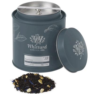 Earl Grey - ceai negru în cutie metalică0