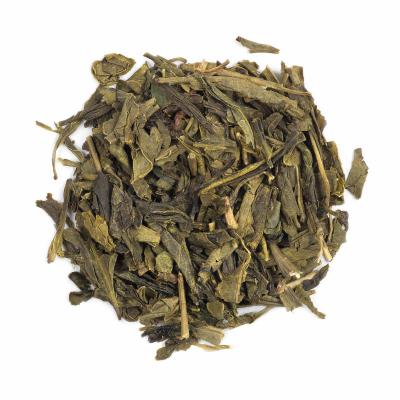 Sencha - ceai verde în cutie metalică2