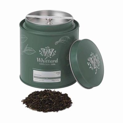 Jasmine - ceai verde cu iasomie în cutie metalică0
