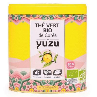 Ceai verde organic cu Yuzu 80G0
