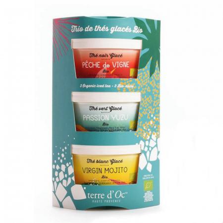 Set cadou 3 ceaiuri organice de vară 105G0