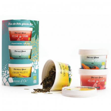 Set cadou 3 ceaiuri organice de vară 105G1