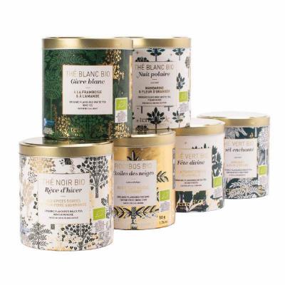 Set cadou - ceaiuri organice de Crăciun 250G2