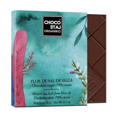 Set ciocolată organică negro 80G1