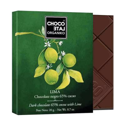 Set ciocolată organică negro 80G4
