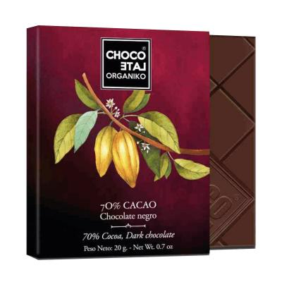 Set ciocolată organică negro 80G2