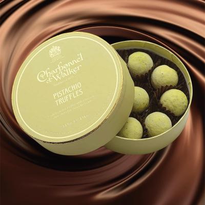Trufe de ciocolată albă cu fistic 115G1
