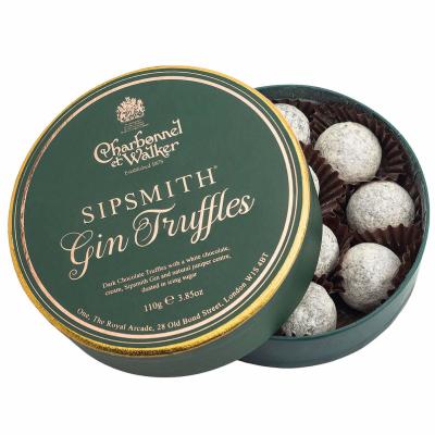 Trufe de ciocolată cu gin Sipsmith 110G0