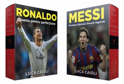 Cutie Messi & Ronaldo