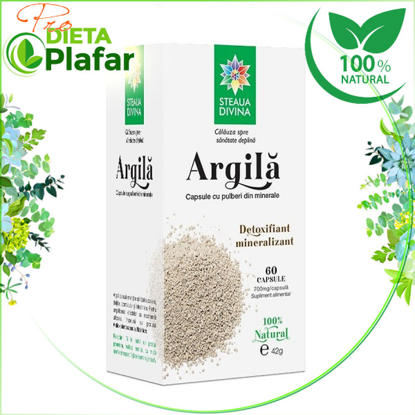 Argila este bogata in minerale, este ajutor gastric si detoxifiant