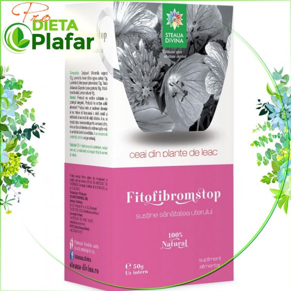 Fitofibromstop ceai de plante medicinale pt chisturi ovariene si fibrom uterin