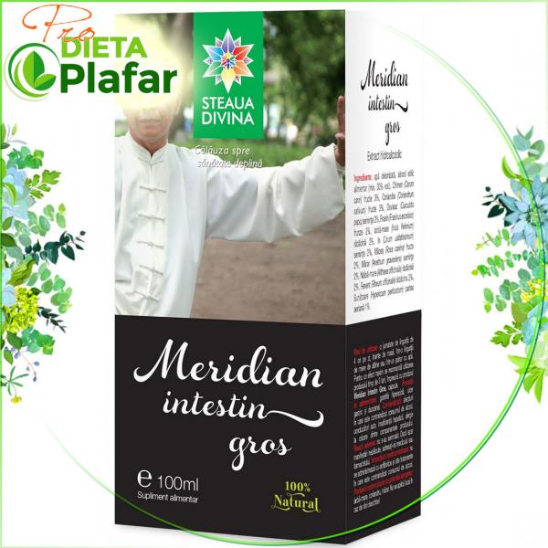 Meridian Intestin Gros este un foarte bun detoxifiant al colonului