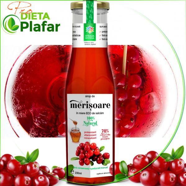 Siropul de merișoare (numite și afine roșii sau cranberries) este bogat în proprietăți nutritive valoroase și aduce numeroase beneficii pentru sănătatea aparatului urinar.