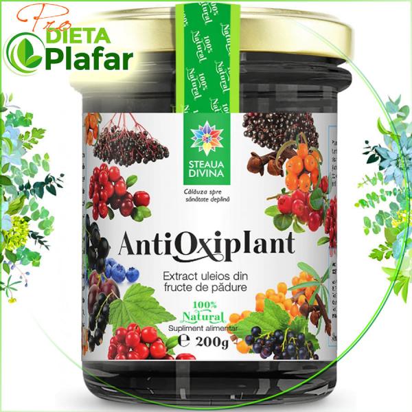 Antioxiplant înseamnă: Plante Medicinale + MIERE + Ulei de COCOS + FRUCTE + SAMBURI.
