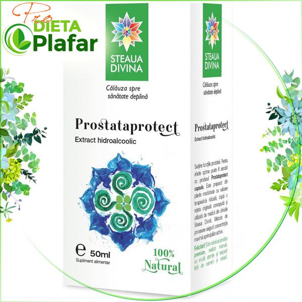 Prostata Protect este o tinctura din plante medicinale 50 ml.Beneficii pentru sanatate in afectiuni ale prostatei.