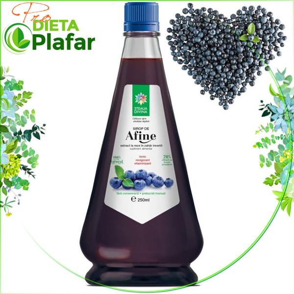 Siropul de afine esteantioxidant, regenereaza purpura retinei si vasele de sange.