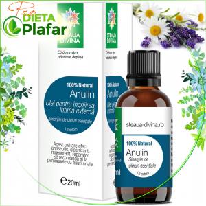 Anulin este unulei esențial tratament naturist pentru igienă intimă, inflamații anale și hemoroizi.