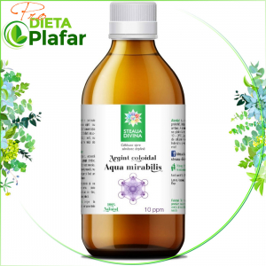 Argint Coloidal pentru purificare si dezinfectare 10 PPM 200 ml