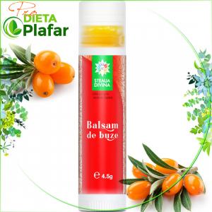 Balsam de buze natural, pentru îngrijire naturală, vitaminizare cu cătină, înfrumusețare.