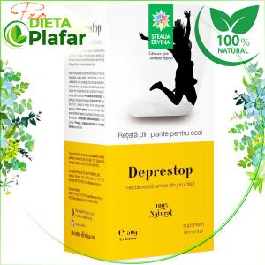 Ceai contra Depresiei cu sunatoare, roininta, obligeana, busuioc.