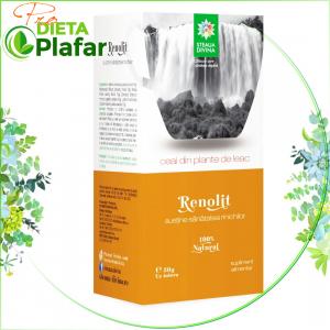 Ceai pentru sanatatea rinichilor si tratament infectii urinare Renolit cu 5 plante.
