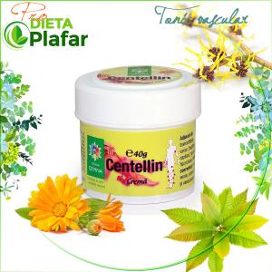 Crema Centellin cu galbenele, castan, hamamelis 40 gr este ideală pentru masaj