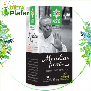 Tratament naturist capsule din pulbere de plante medicinale. Remedii naturale pentru ficat gras. Pret capsule Steaua Divina.