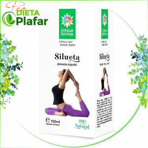 Slabire naturala cu extract de fructe si plante. Tinctura din plante medicinale Silueta este recomandată pentru o cură de 3 luni.