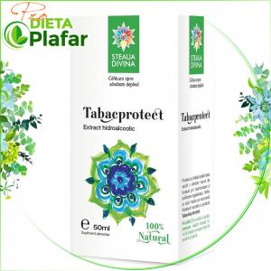 Tabacprotect este o tinctura naturista ce combate efectele tutunului 50 ml.