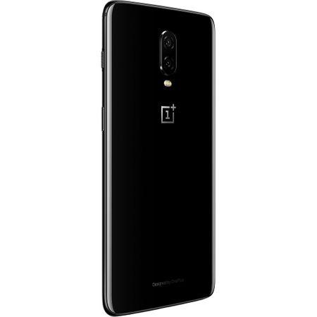 Telefon mobil OnePlus 6T, Dual SIM, 128GB, 8GB RAM, 4G, Mirror Black