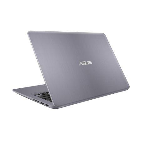 "Laptop ultraportabil ASUS S410UA-EB681 cu procesor Intel® Core™ i5-8250U pana la 3.40 GHz, Kaby Lake R, 14"", Full HD, 4GB, 1TB, Intel® UHD Graphics 620, Endless OS, Grey"