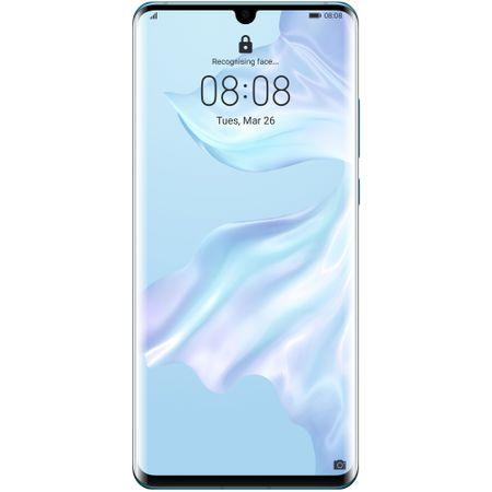 Telefon mobil Huawei P30 Pro, Dual SIM, 128GB, 6GB RAM, 4G, Breathing Crystal