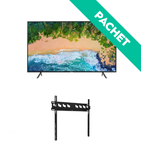 "PACHET PROMO*- TV SAMSUNG 40NU7122UHD SMART plus Suport TV de perete Vogel's MA3000, fix, 32-55"", 60 Kg"