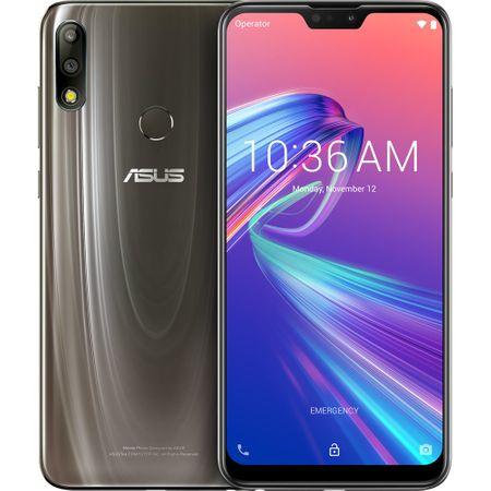 Telefon mobil Asus ZenFone Max Pro M2 ZB631KL, Dual SIM, 64GB, 64GB RAM, 4G, Cosmic titanium
