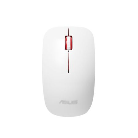 Mouse wireless Asus WT300, Alb/Rosu
