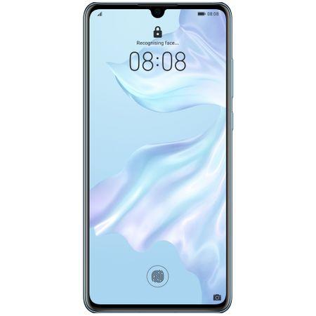 Telefon mobil Huawei P30, Dual SIM, 128GB, 6GB RAM, 4G, Breathing Crystal