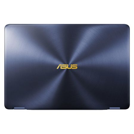 "Laptop ultraportabil ASUS ZenBook Flip UX370UA-C4195R cu procesor Intel® Core™ i7-8550U pana la 4.00 GHz, Kaby Lake R, 13.3"", Full HD, Touch, 16GB, 512GB SSD, Intel® UHD Graphics 620, Microsoft Window"