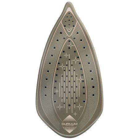 Fier de calcat Tefal Ultimate Anti-calc FV9787, 3000W, 0.35 l, Talpa Durilium Airglide Autoclean, 230 g/min, Alb/Negru