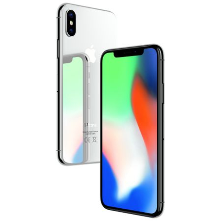 Telefon mobil Apple iPhone X, 64GB, 4G, Silver