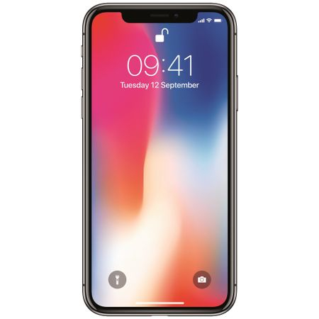Telefon mobil Apple iPhone X, 64GB, 4G, Silver