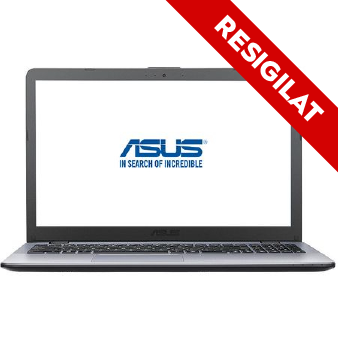 "Laptop ASUS VivoBook Max F542UN-DM127 cu procesor Intel® Core™ i5-8250U pana la 3.40 GHz, Kaby Lake R, 15.6"", Full HD, 8GB, 256GB SSD, NVIDIA GeForce MX150 4GB, Endless OS, Dark Grey"