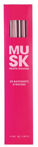 Set cu 20 Betisoare Parfumate pentru camera ULRIC DE VARENS - Musk Fruits Rouges-big