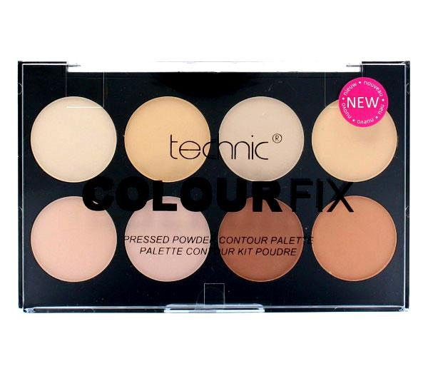 Paleta Profesioanala Cu 8 Pudre Compacte Technic Colour Fix-big