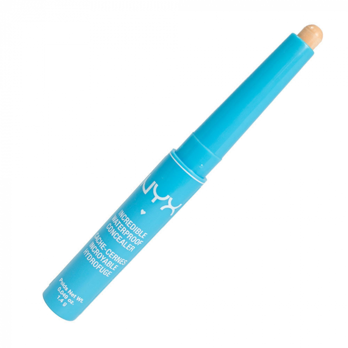 Corector NYX Professional Incredible Waterproof Concealer, CS03 Light-big