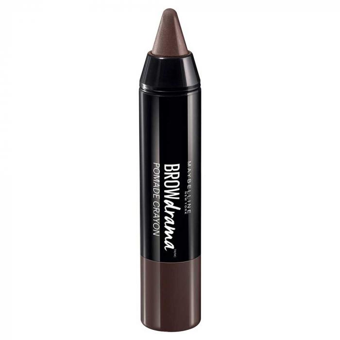 Creion pentru sprancene Maybelline New York BROW Drama Pomade Crayon, Dark Brown-big