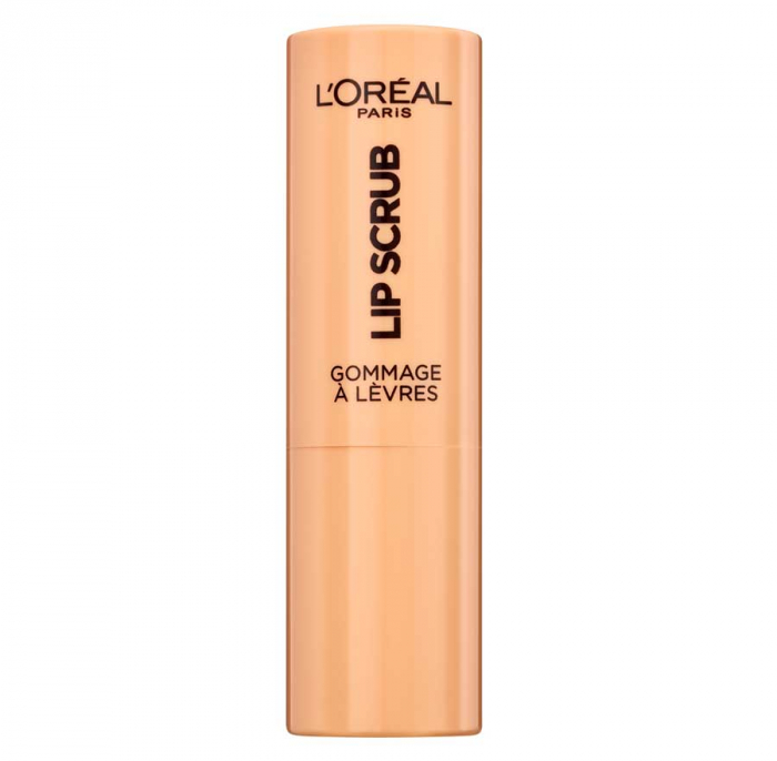 Exfoliant pentru buze L'Oreal Paris Spa Lip Scrub, 03 Peach Twist, 4 g-big