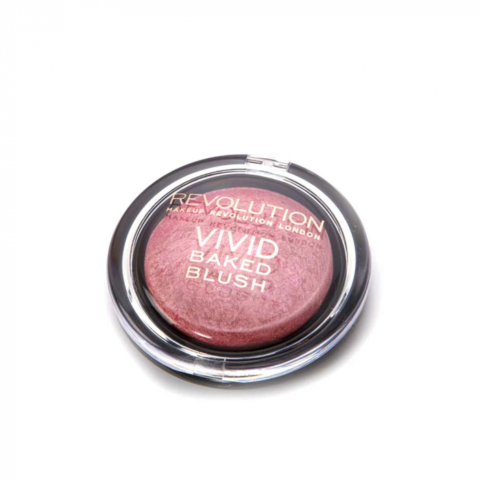Fard de Obraz Makeup Revolution Baked Blusher - All I think about is you, 6g-big
